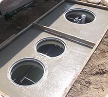 合併処理浄化槽の設置、工事